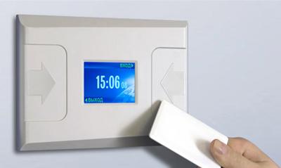 Контроллер LICON для системы учёта рабочего времени